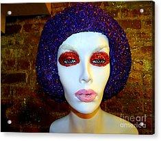 Glitter Gal Acrylic Print by Ed Weidman