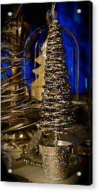 Glitter Tree - Christmas  Acrylic Print