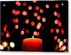 Glittering Lights Acrylic Print