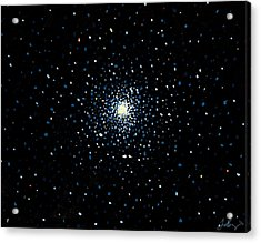 Globular Acrylic Print by Timothy Benz