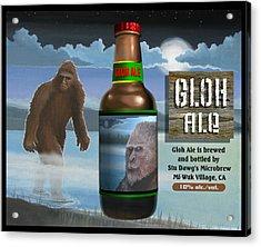 Gloh Ale Acrylic Print by Stuart Swartz