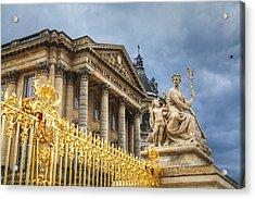 Acrylic Print featuring the photograph Gloires De La France by Ross Henton