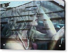 Gloomy Drive Ahead Acrylic Print