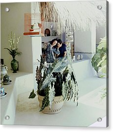 Gloria Guinness And Marco Antonio Aldaco Acrylic Print