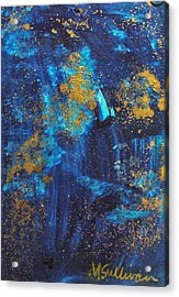 Acrylic Print featuring the painting Gloria by Mary Sullivan