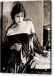 Gloria Swanson Acrylic Print by Studio Release