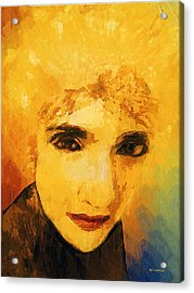 Glorious Crone Acrylic Print by RC deWinter