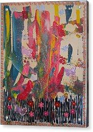 Glorious Garden Acrylic Print