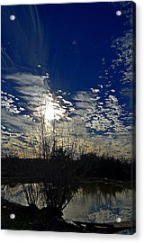 Glorious Reflection Acrylic Print by Kelly Kitchens