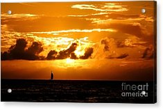 Acrylic Print featuring the photograph Glorious Sunset by Kristine Merc