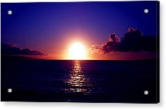 Glorious Sunset Acrylic Print