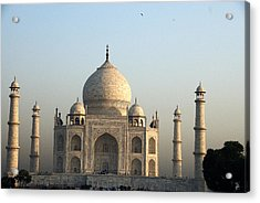 Glorious Taj Acrylic Print by Rajiv Chopra