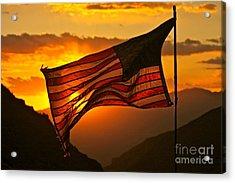 Glory At Sunset Acrylic Print