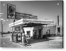 Glory Days Of Route 66 Acrylic Print by Bob Christopher