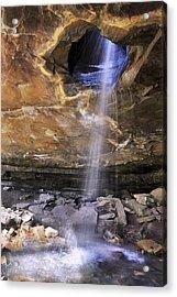 Glory Hole Falls - Arkansas - Waterfall Acrylic Print