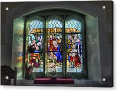 Glory Of God Acrylic Print by Ian Mitchell