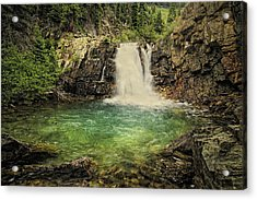 Acrylic Print featuring the photograph Glory Pool by Priscilla Burgers