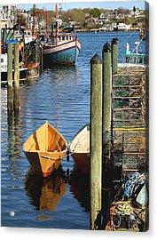 Gloucester Dinghy Acrylic Print