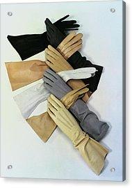 Gloves Acrylic Print