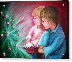 Glow Of Christmas Acrylic Print