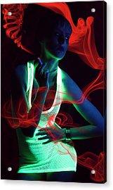 Glow Acrylic Print by Vojislav Markovic