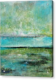 Glowing Even When It's Raining Acrylic Print by Johane Amirault