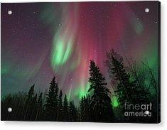 Glowing Skies Acrylic Print by Priska Wettstein