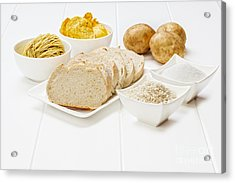 Glycemic Index High Gi Foods Acrylic Print by Colin and Linda McKie