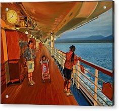 Go-betweens Acrylic Print by Thu Nguyen