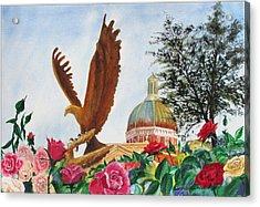 Go Eagles  Acrylic Print