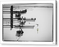 Go Fish - Art Unexpected Acrylic Print by Tom Mc Nemar