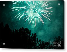 Acrylic Print featuring the photograph Go Green by Suzanne Luft