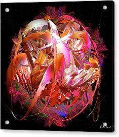 Go Inside And Play Acrylic Print by Michael Durst