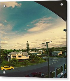 Go Pro Hero 3+ Afternoon Time Lapse Acrylic Print