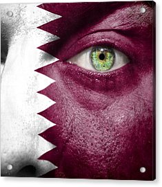 Go Qatar Acrylic Print by Semmick Photo