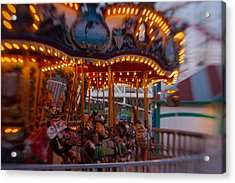 Go Round Again Acrylic Print by Scott Campbell