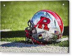 Go Rutgers Acrylic Print