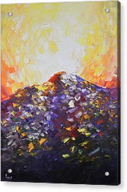 Go Tell It Acrylic Print by Mike Moyers