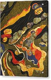 Go With The Flow Acrylic Print by Lynda K Boardman