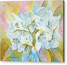 Go With The Glow Acrylic Print by Kathryn Duncan