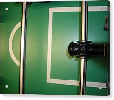 Goal Keeper Acrylic Print by Robert Cunningham