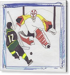 Shut Out By Jrr Acrylic Print by First Star Art
