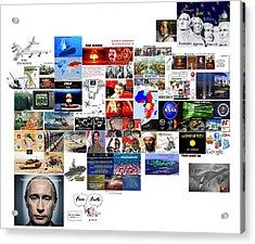 Goal Post Putin Acrylic Print
