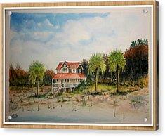 Goat Island South Carolina Sold Acrylic Print by Richard Benson