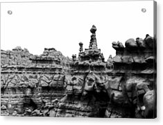 Acrylic Print featuring the photograph Goblin Tower by Tarey Potter