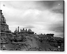 Acrylic Print featuring the photograph Goblin Valley by Tarey Potter