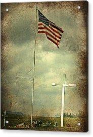 God And Country Acrylic Print by Doug Fredericks