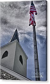 God And Country Acrylic Print