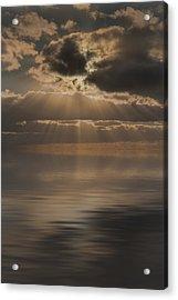 God At Work Acrylic Print by Andy Astbury
