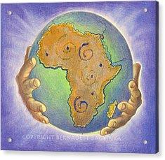 God Bless Africa Acrylic Print